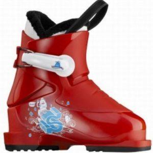 salomon-t1-junior-ski-boot-red